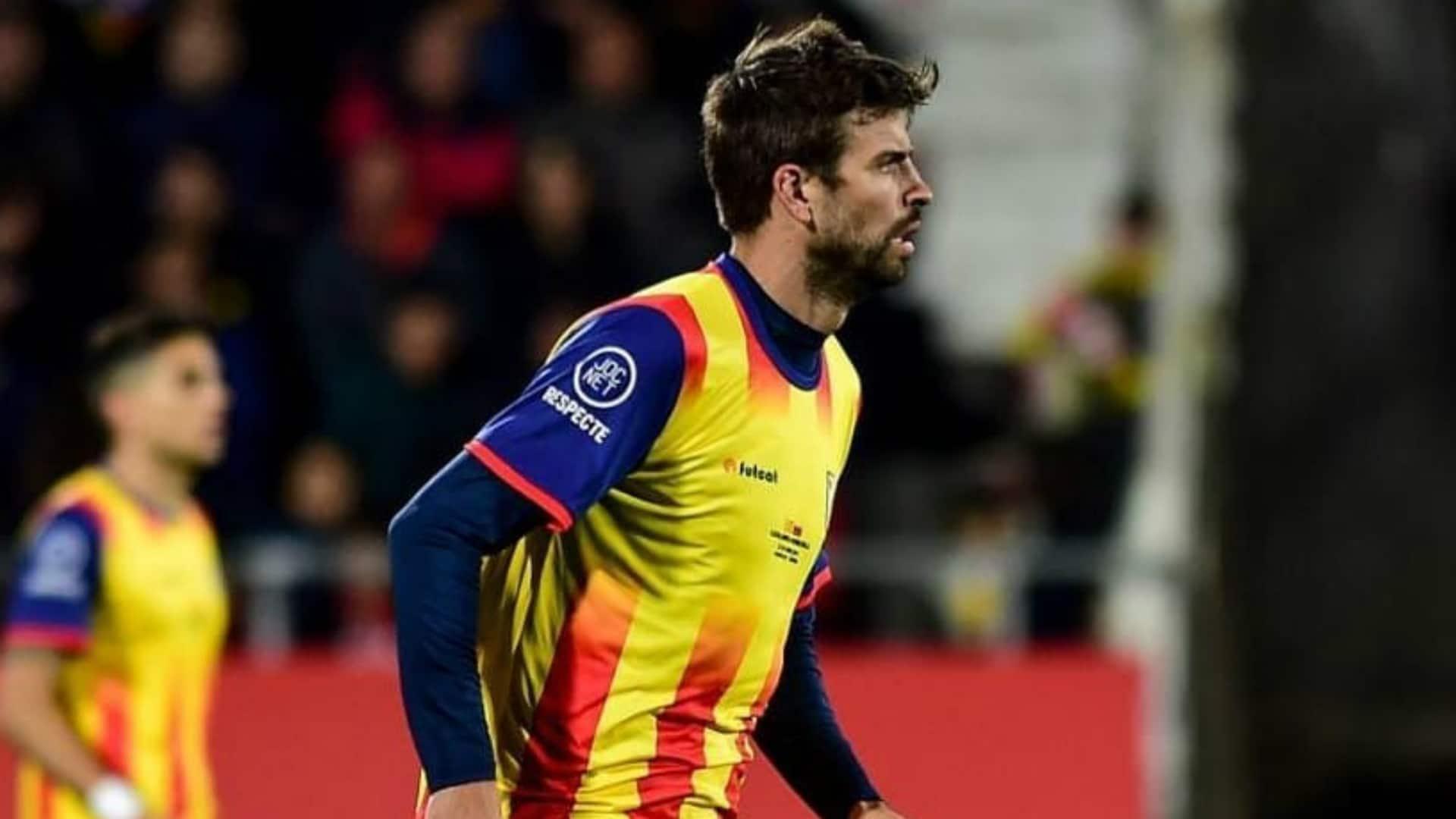 แทงบอล แทงบอลออนไลน์ บาคาร่า คาสิโน เคราร์ด ปิเก้ ออกปาก ตำหนิแฟนบอล หลังร้องเพลงต่อต้านสเปน
